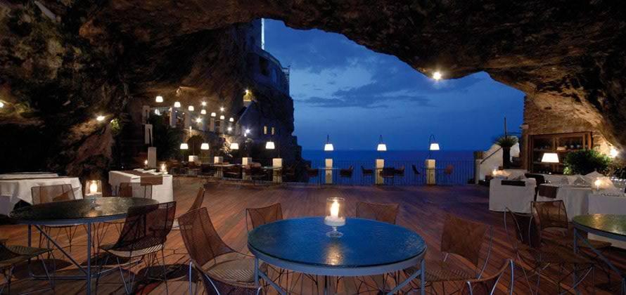 grotta palazzese (polignano a mare)