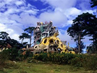 Hang Nga Guesthouse, la casa albero