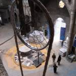 Pulley used to raise materials in the cathedral of Justo Gallego in Mejorada del Campo, Madrid