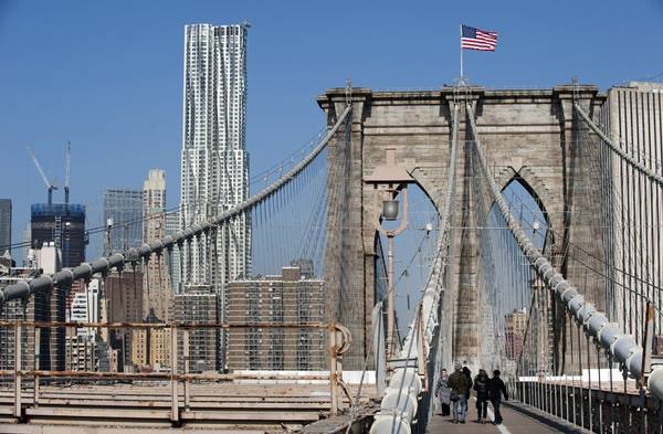Ponte di Brooklyn New York