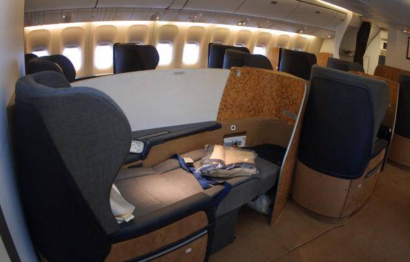 Incidenti aerei chi viaggia in prima classe ha meno for Ba cabina di prima classe