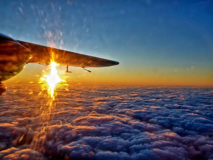 foto dall'aereo