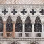 ITALY-CARNIVAL-VENICE-SNOW
