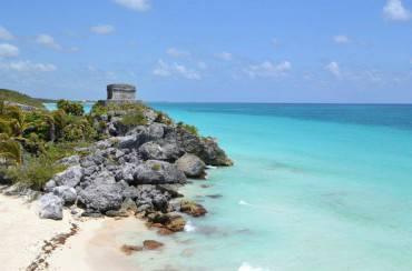 Una spiaggia del Messico