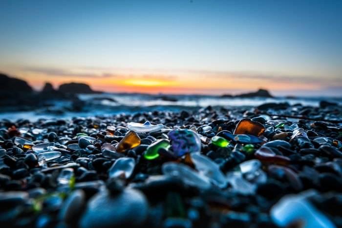 Spiaggia di vetro