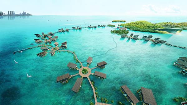 Funtasy Island arcipelago Riau Indonesia