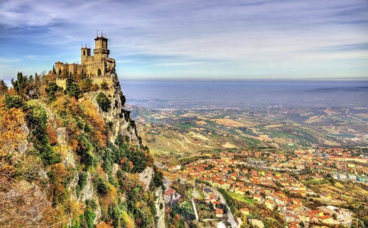 Guaita, the First Tower of San Marino