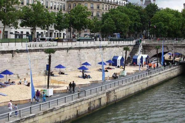spiaggia a Parigi