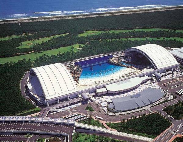 Seagaia Ocean Dome giappone Miyazaki