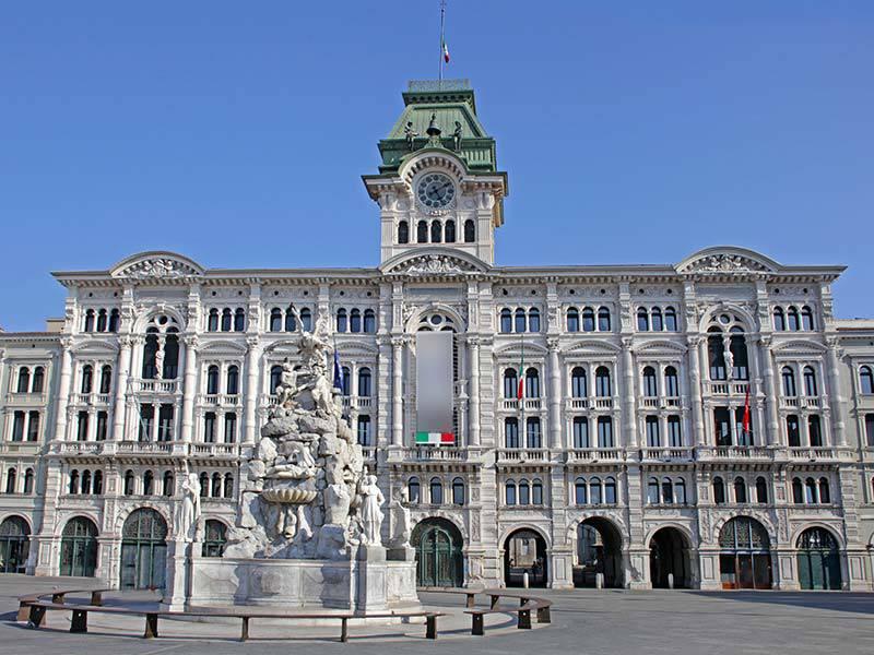 Trieste, Piazza del Municipio
