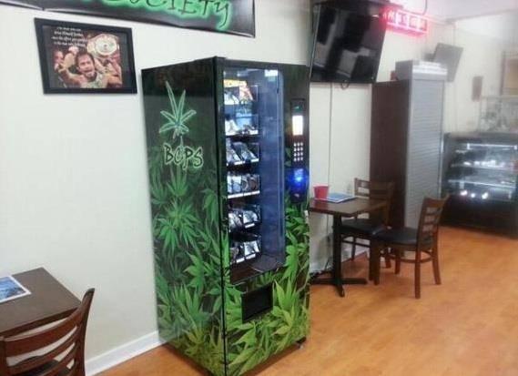 distributore di marijuana