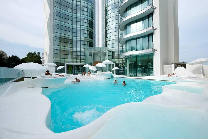 hotel design I-Suite Rimini