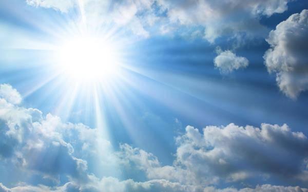 sole e nuvole previsioni meteo