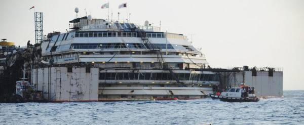 La Costa Concordia è partita
