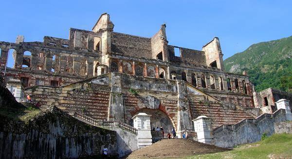 Haiti San Souci palazzo