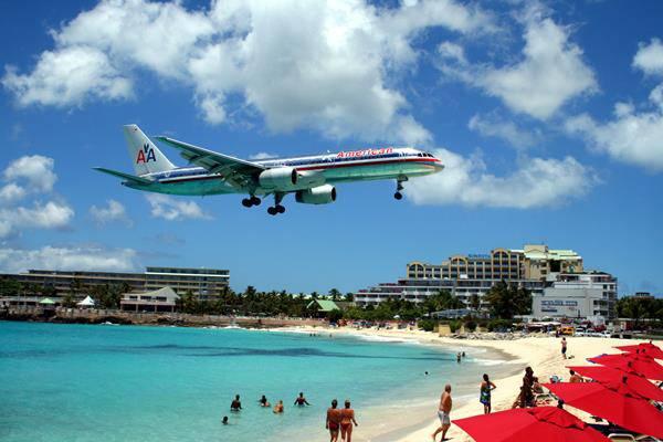 Maho Beach, St. Maarten, Antille