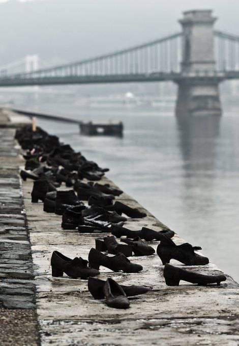 Scarpe sul Danubio, Budapest, Ungheria