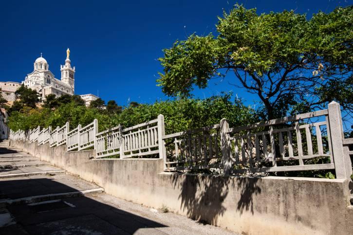 Notre-Dame de la Garde basilica in Marsiglia