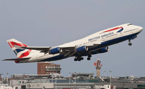 British Airways Ebola