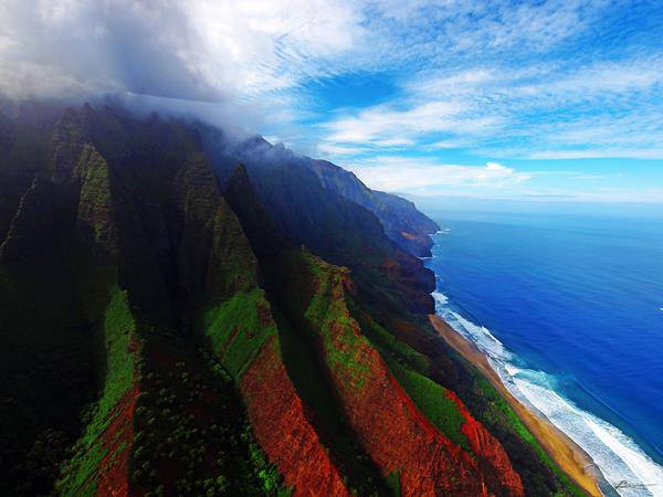 Monte Waialeale, Hawaii estate piovosa Italia