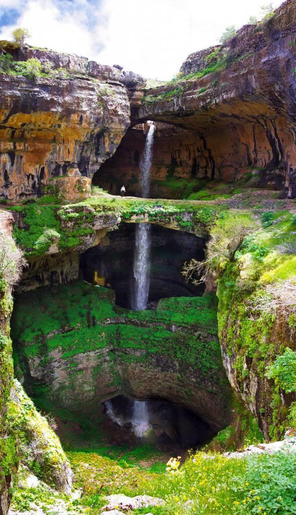 grotta dei tre ponti libano