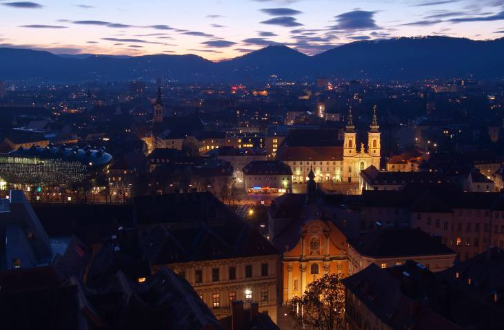 Graz, capitale della Styria, Austria - foto thinkstock