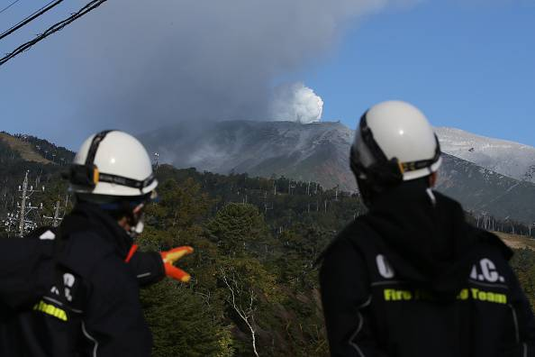 Rescue Work Continues After Mount Ontake Eruption In Japan