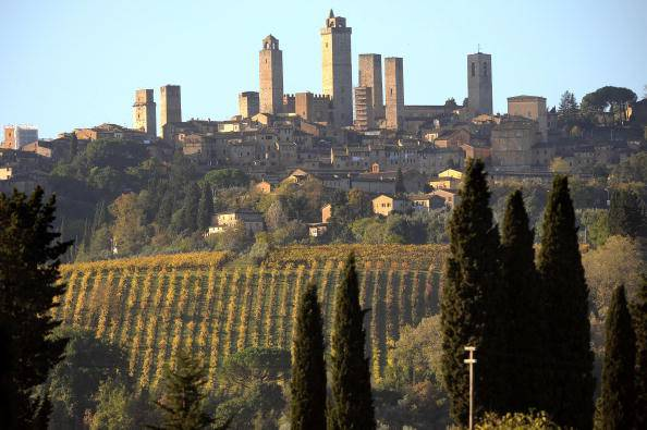 San Gimignano @Getty Images