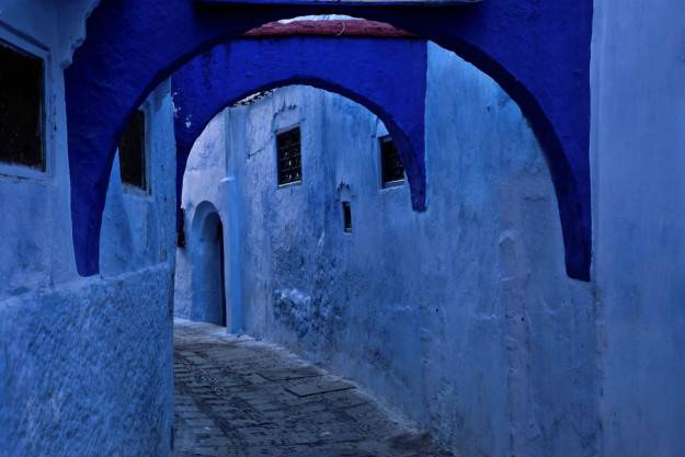 città blu cobalto (Chefchaouen)