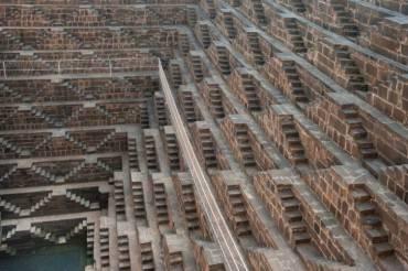 Chand Baori, India - scalinate
