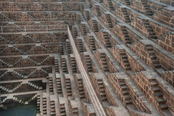 Chand Baori, India - scalinate