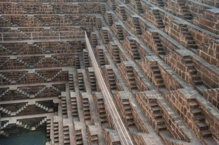 Chand Baori, India.