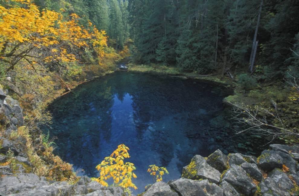 Blue Pool - Fiume McKenzie, Oregon