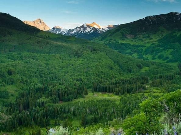 Capitol Creek Valley, Colorado