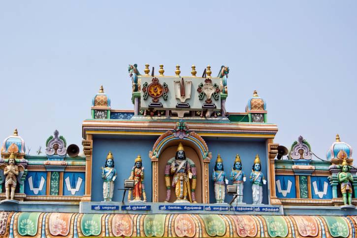 Chennai, tempio a Visnu, India (Thinkstock)