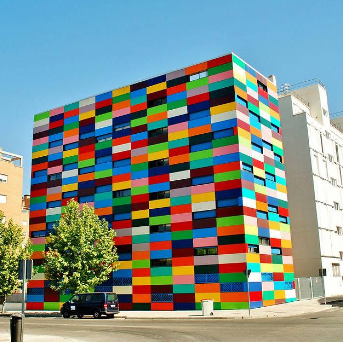Exterior Home Design App: Top 5: Ecco Gli Edifici Più Colorati Del Mondo