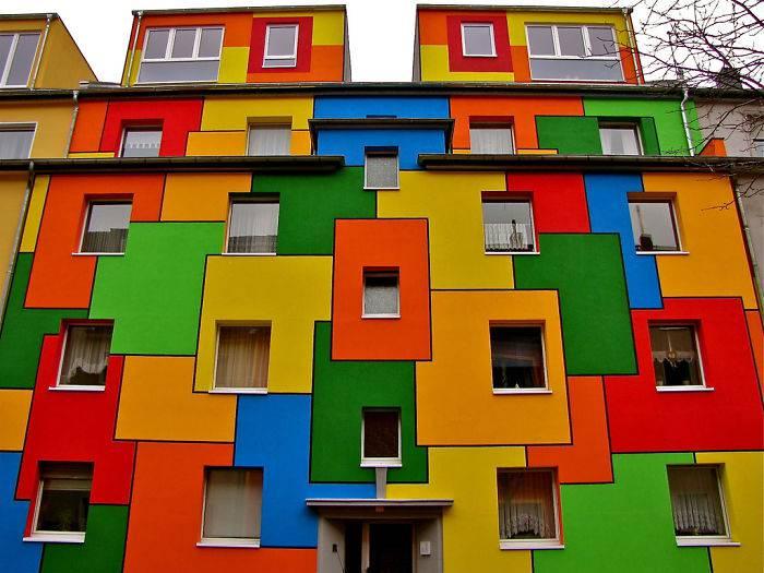 edifici più colorati del mondo