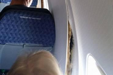 aereo atterraggio d'emergenza
