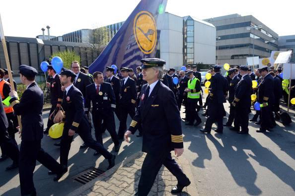 Sciopero piloti Lufthansa