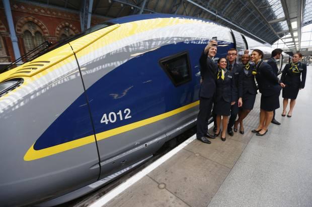 londra e parigi pi vicine grazie al nuovo super treno e320