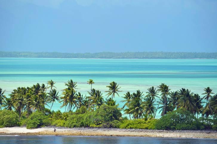 Kiribati i primi a salutare l'arrivo del 2016