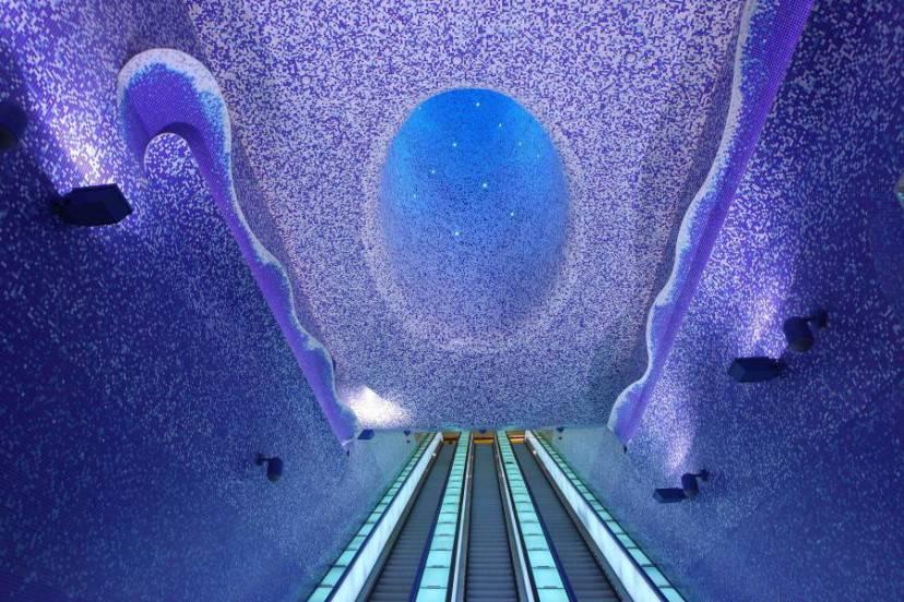 Stazione Toledo, Napoli (Italia)