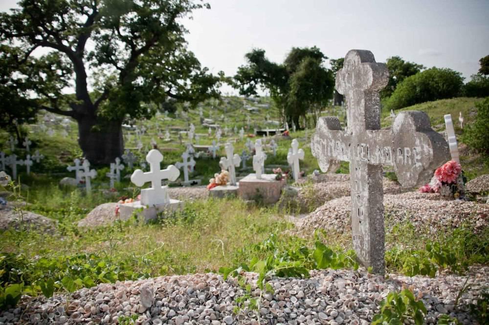 cimitero conchiglie