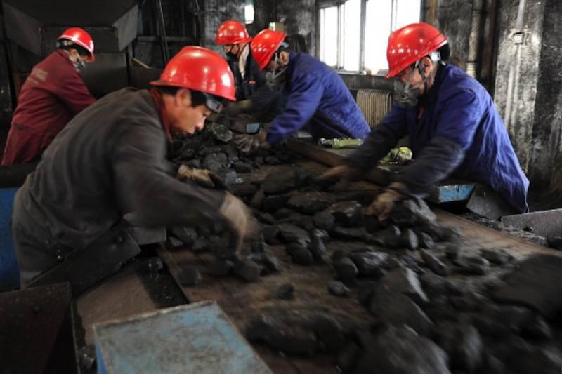 Incendio miniera cinese