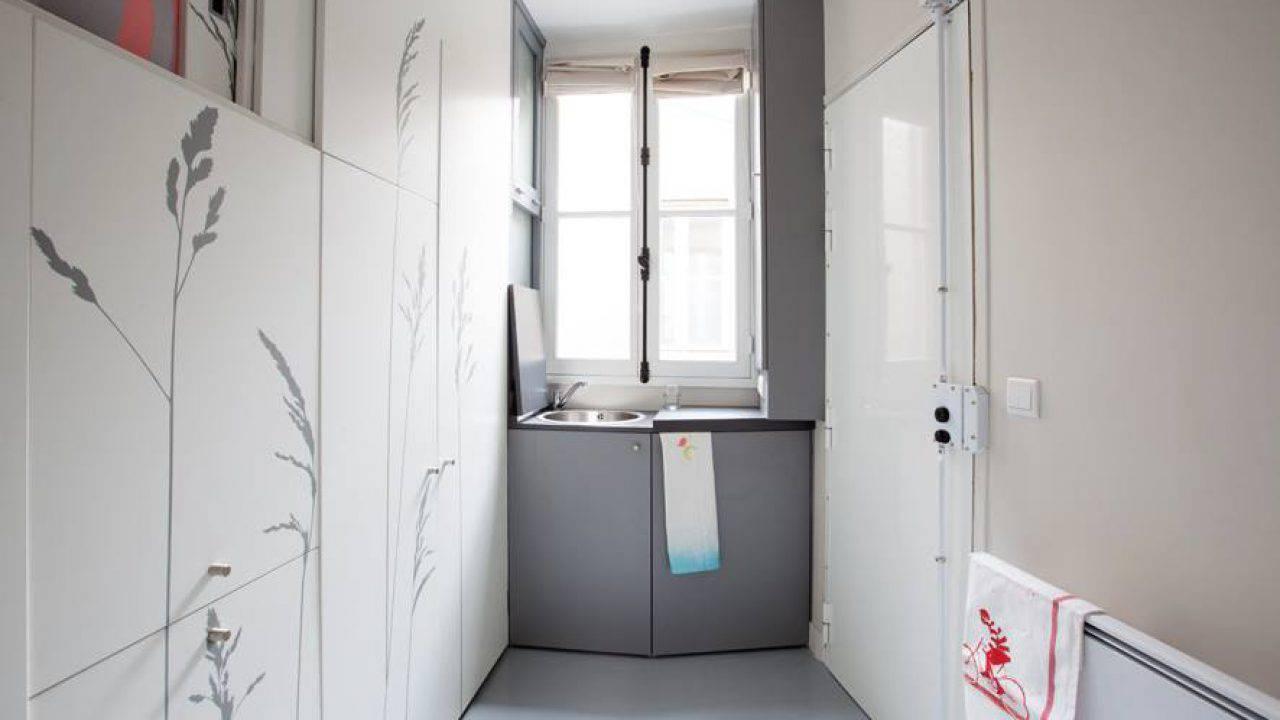 Monolocali In Vendita A Parigi parigi la casa più piccola del mondo - video e foto
