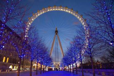 London Eye Londra natale