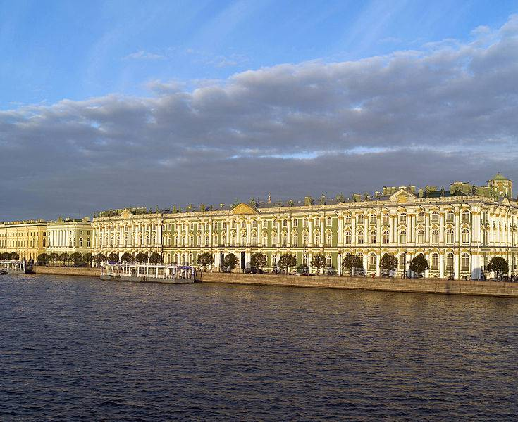 State Hermitage Museum e Palazzo d'Inverno, San Pietroburgo, Russia