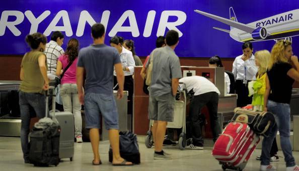 Passengers of the Irish low-cost airline