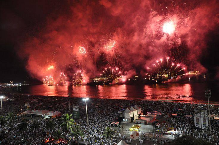 Capodanno 2015 Rio de Janeiro