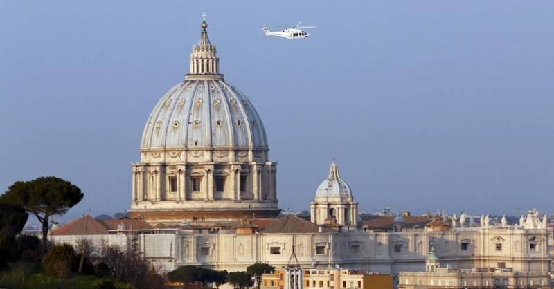 elicottero su roma